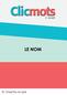 Clicmots3 capsule nom cv