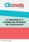Clicmots3 personne nombre pronoms conjugaison