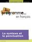 C1 auprogrammef4 syntaxe