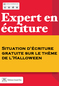 Expert1 situation ecriture halloween