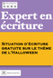 Expert2 situation ecriture halloween